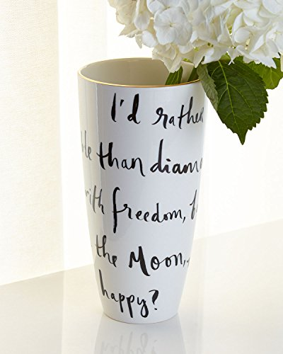 Kate spade new york Daisy Place I'd Rather Be Vase, 9