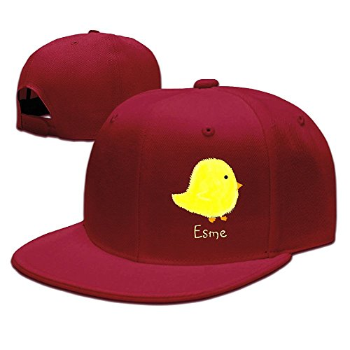 ZhiqianDF Mens Esme Baby Chick Shopping Beach Funny Baseball Red Hat Adjustable - Center Shopping Tacoma