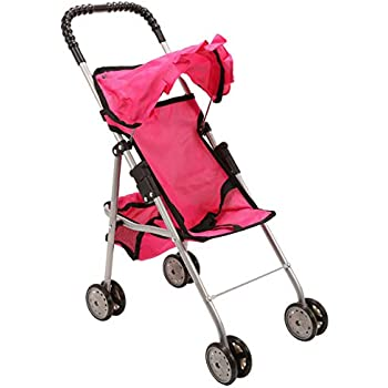 Amazon.com: Amazingdeal Baby Buggy Stroller Doll Toy ...