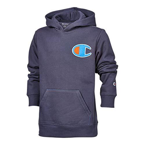 Champion Youth Heritage Fleece Sweatshirt Big and Little Boys (Navy Big C, Big Boys Size X-Large Size 18/20)