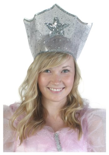 Fun Costumes Adult Good Witch Glinda Sparkle Crown - ST