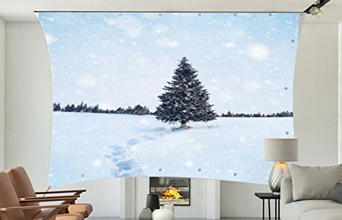 "100"" 16:9 Portable Lycra/Spandex Video Projector Display Movie Screen DJ Screen.Complete Kit Includes 4.2'x7' 180G Stretch Fabric&Hardware for Indoor Outdoor Back Yard Movie Front&Rear Screen Use -"