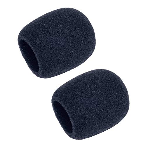 Sunmns Mic Foam Cover Windscreen Pop Filter for Blue Yeti, Blue Yeti Pro Condenser Microphone, 2 Pack