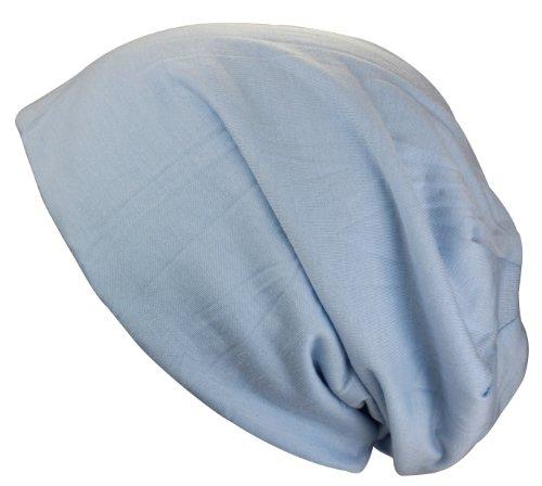 Gorro Beanies largo Azul claro verano primavera XL Jersey SgSqt7r