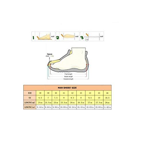 Ligeras Aire Zapatillas Transpirables C Hombre Tamaño Caminar Y 44 Libre Fuweiencore Moda Para De Deportivas Casuales On color Al Zapatos Deporte qfwdw4I6