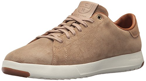 dpro Tennis Oxford, Tan Oiled Suede, 11.5 Wide US ()