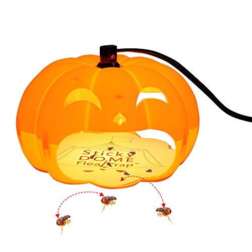 Flea Trap, SEICOSY Pest control Indoor Plug-in Electric Dome Sticky Flea...