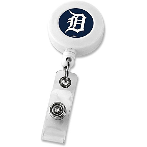Detroit Tigers Retractable Badge Reel Id Ticket Clip ()