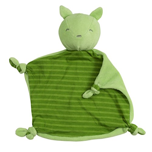 green sprouts Organic Blankie Animal Fox, Green, 3 Months