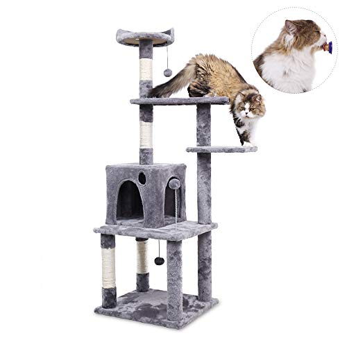 PAWZ Road Activity Tower 57 Multi-Level Cat Tree Only $41.99