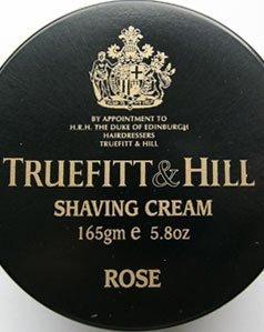 Truefitt & Hill Rose Shaving Cream Jar 5.8 ounces