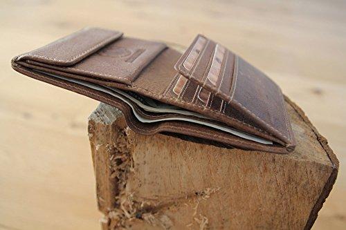 """Geldbörse aus echtem Leder """"Jamie"""