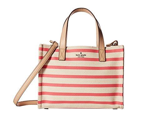 (Kate Spade New York Women's Washington Square Sam Peach Sherbert Stripe One Size )