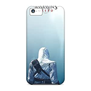 Scratch Resistant Hard Phone Covers For Iphone 5c (npI17225PgEe) Provide Private Custom Stylish Assassins Creed Pictures