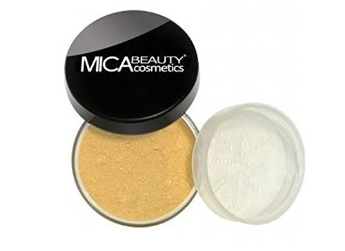 Mica Matte Foundation - Mica Beauty  Mineral Makeup Foundation  Mf- 5 Cappuccino  and  A-viva  File