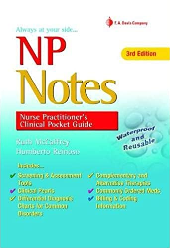 Np Notes: Nurse Practitioners Clinical Pocket Guide
