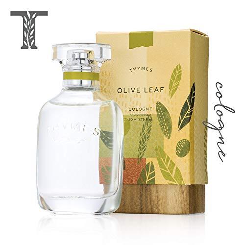Thymes - Olive Leaf Cologne - Fresh Fragrance for Men & Women - 1.75 (New Leaf Cologne Spray)