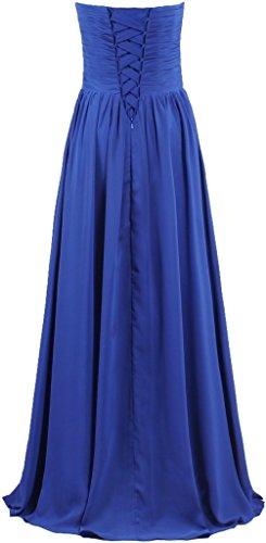 Robes De Mariée Longue Bustier Cru De Cyan Robe De Mousseline De Fourmis Femmes
