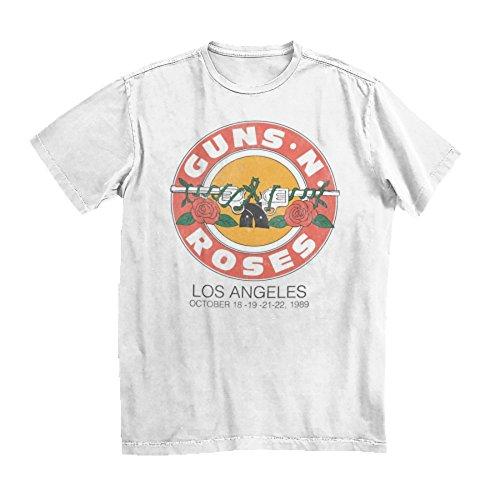 Bravado Guns N Roses L.A. 1989 Bullet T-Shirt, S to XXL