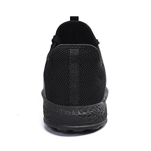 Black Mujer Deportivas t Zapatos De Malla Unisex Ligeras Transpirable Para Zocavia Zapatillas Hombre xw0qP7