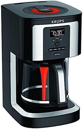 Amazon.com: KRUPS EC3240 - Cafetera programable de 14 tazas ...