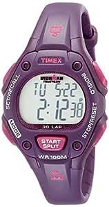 Timex Women's T5K7569J Ironman Traditional 30-Lap Plum Resin Strap Watch