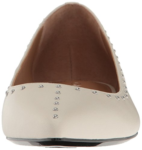 Calvin Klein Women's Genie Pointed Toe Flat, Soft White, 8 M US by Calvin Klein (Image #4)
