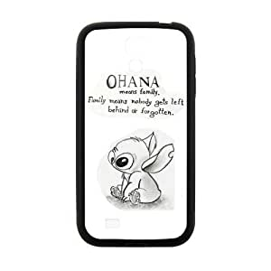 Custom Unique Design Ohana Samsung Galaxy S4 Silicone Case hjbrhga1544
