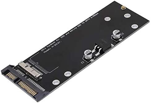 Topiky Tarjeta de convertidor de Adaptador SSD a SATA para 2012 ...