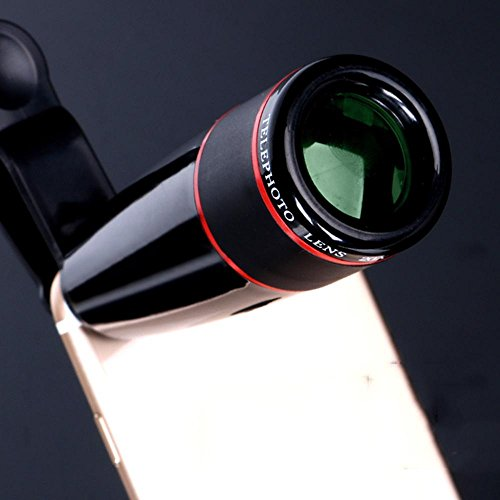 XUEXIN Mobile telephoto telescope HD non - infrared concert camera camera lens adult , black by XUEXIN