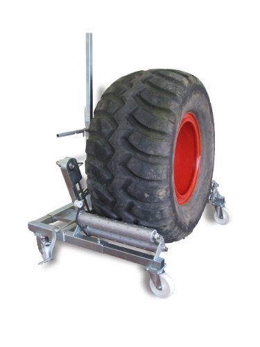 """Bern madera Radwechselwagen """"profesional"""" con 600 mm capacidad de rodillos de rotación y"""