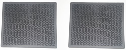 LifeSupplyUSA 2 Pack HEPA Filter fits Alen BF25A HEPA-Pure Replacement Filter for HEPA-Fresh A350, A375 Air Purifier (Bf25a Replacement)