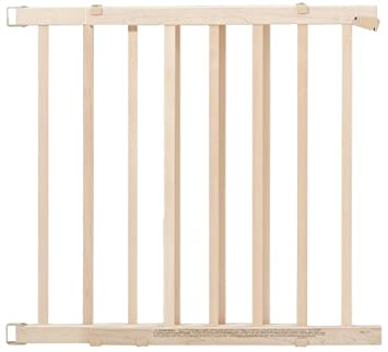 Evenflo Top Of Stair Plus Gate, Natural Wood (Discontinued By Manufacturer)