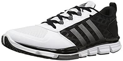 adidas Men's Freak X Carbon Mid Cross Trainer, Black/Carbon Met. White, (6.5 M US)