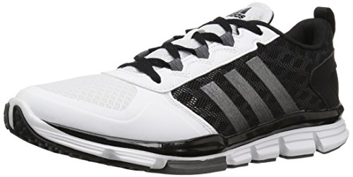 adidas Men's Freak X Mid Cross Trainer, Black/Carbon Met. White, ((8 M US) ()