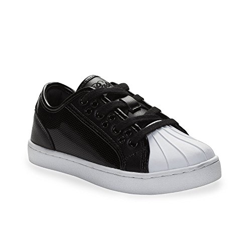 Black Glossy Paris amp; White Kids Fashion Sneakers Style Black Unisex White � Pastry Praline SRX4cq7Fnf