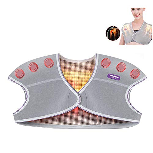 LIBINA - Cojines Térmicos Terapia de Calor Natural Cuello y Hombros Auto Almohadilla térmica para Mujeres - Reutilizable,L
