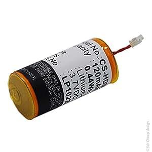 NX - Bateria casco audio 3.7V 120mAh - LP1022L15