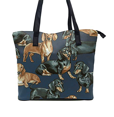 Beach Bag Extra Large Summer Tote With Handles (Weenie Dogs)
