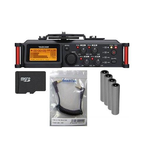 Tascam DR 70D 4 Channel Recorder Bundle product image