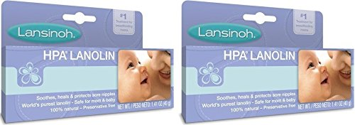 Lansinoh 2 Piece HPA Lanolin 1.41 Ounce