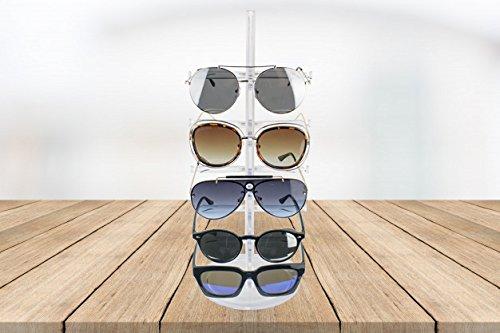 Paide Pr/ésentoir /à lunettes/pour 5/paires Noir
