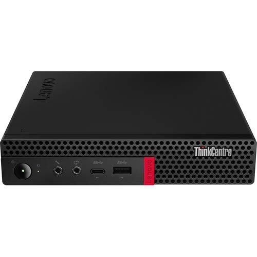Lenovo ThinkCentre M630e 10YM0034US Desktop Computer - Core i3 i3-8145U - 8 GB RAM - 256 GB SSD - Tiny - Black - Windows 10 Pro 64-bit - English (US) Keyboard - Wireless LAN - Bluetooth