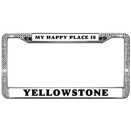 Amazon.com: GND Car License Plate Frames Custom License Plate Metal ...