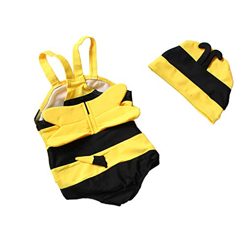 Froomer Little Girls Baby Bee Swimsuit One Piece