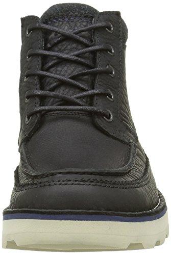 Stivaletti Clarks Uomo GTX Korik Black Rise Nero Leather t7w7agq