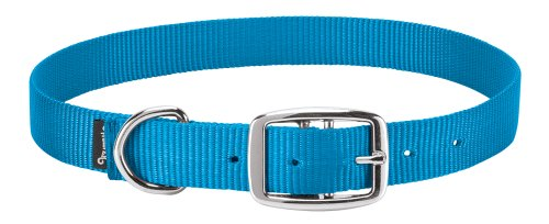Weaver Leather Goat Collar, Hurricane Blue, Small