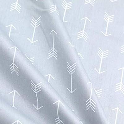 Amazon.com: Pukido 160 cm50 cm paño de algodón gris dibujos ...