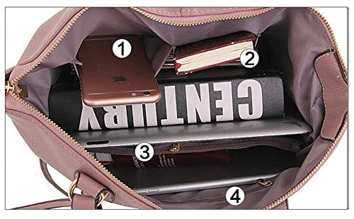 portable bandoulière bandoulière à bleu Sac noir et main à Sac à OTX4ff