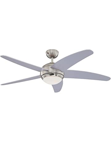 Schema Elettrico Ventilatore A Soffitto : Ventilatori da soffitto con lampada illuminazione amazon